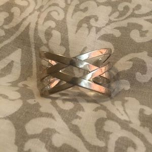 RARE James Avery Sterling Silver Cuff Bracelet